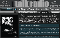 In Depth Perception - Save One LIfe. Save The World. Live podcast with host Lisa Bracken